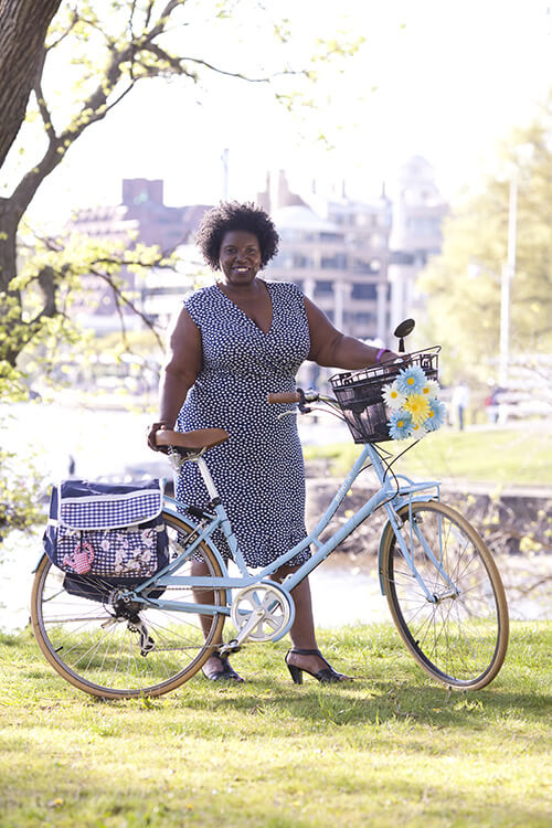 Bicycling and the City Founder Renée Moore