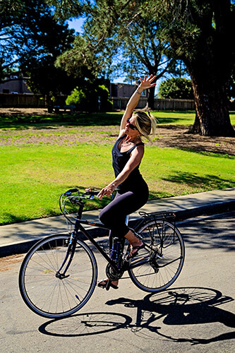 Bike Yoga: Take Your Practice on the Road