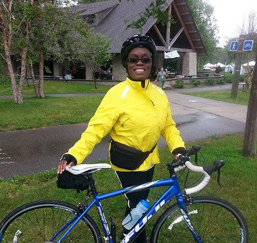 Tammy McLemore from Black Girls Do Bike