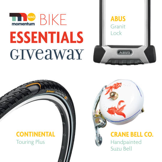 bike essentials giveaway momentum mag. Black Bedroom Furniture Sets. Home Design Ideas