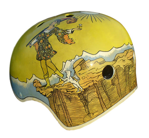 Hand-Painted Inkwell Helmets
