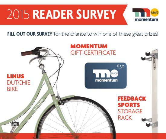2015 Momentum Mag Reader Survey