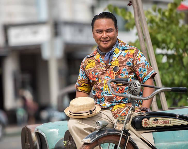 Bernard C. Serrano Shares His Bike Style