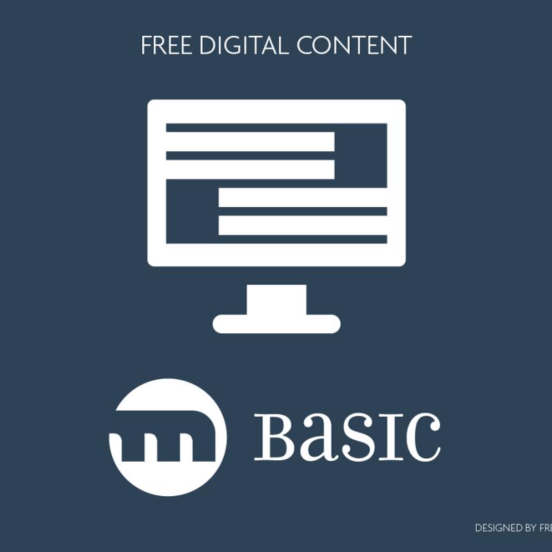 Basic. Free digital content