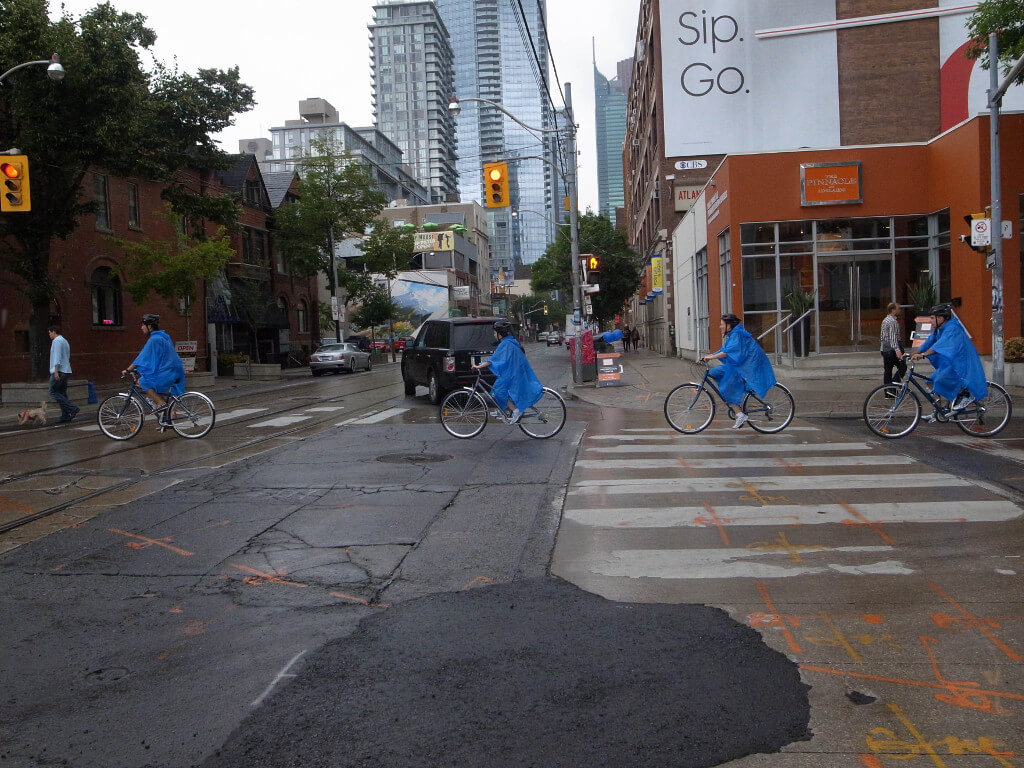 It's the T-Dot on Two Wheels with Toronto Bicycle Tours