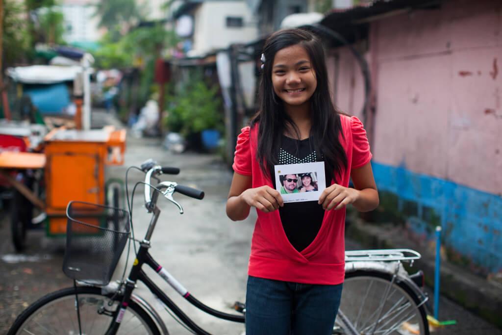 Franzcheska lives in a barangay in Manila.