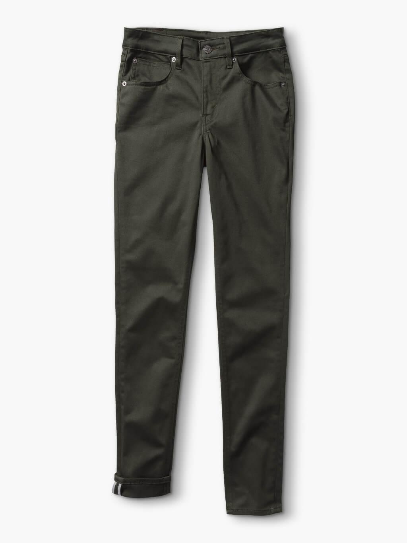 Dark denim skinny jeans