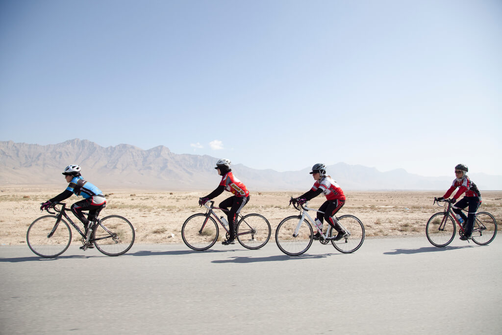 The Afghan Women's Cycling Team Gets a Nobel Prize Nomination