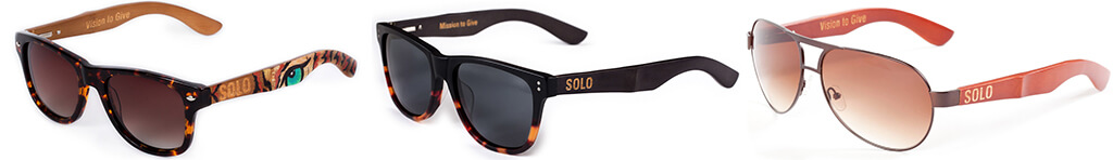 SOLO Eyewear - Great Sunglasses for a Greater Cause ...