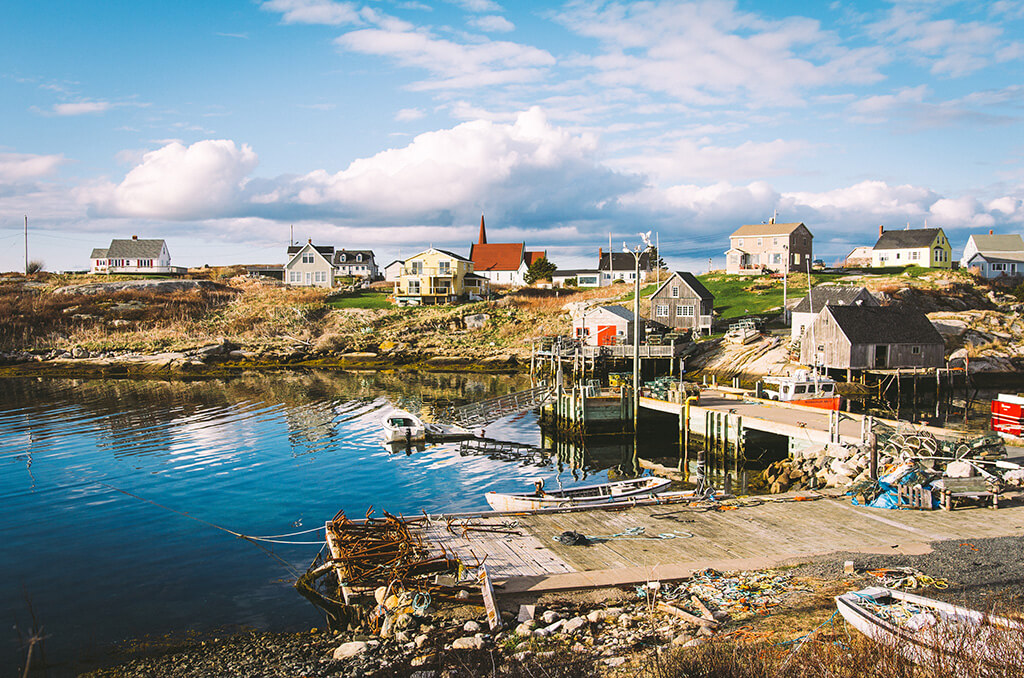 Peggy's Cove, photo by Izzy Dempsey