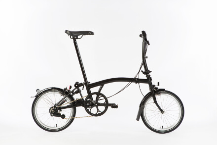 Brompton Black Edition in Black
