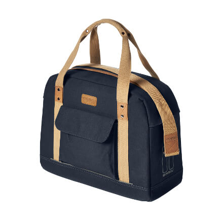 Basil Portland Business Bag, in navy blue