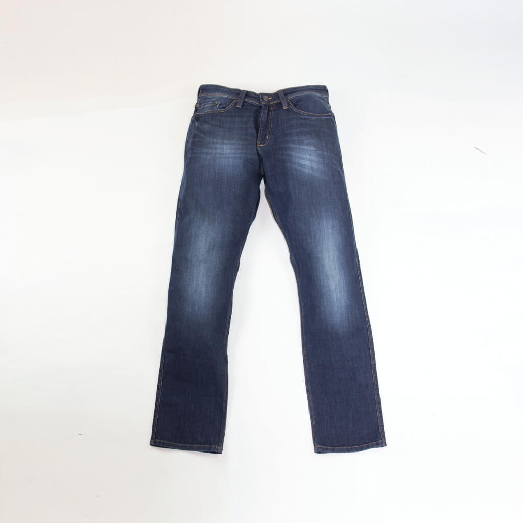 Men's Relaxed Fit Jean Stone Wash, Flat image