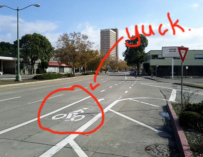 No More Bike Lanes. Bike Lanes Are Ugly.