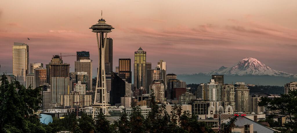 Seattle biking and walking