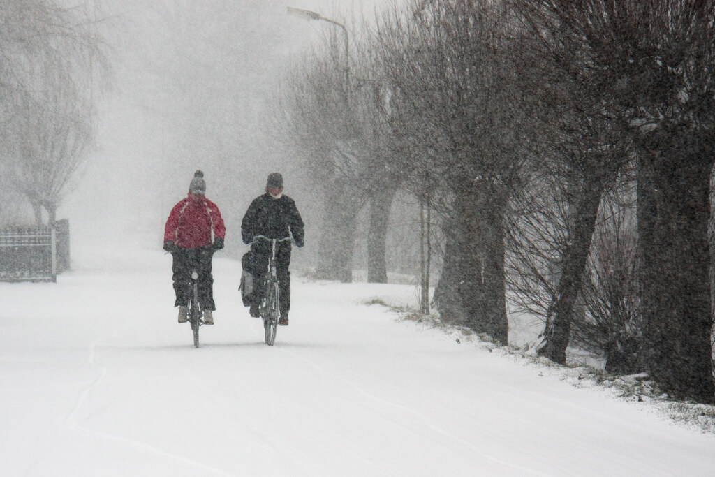 Winter Biking 101: Gear and How-to for Cycling through Snow