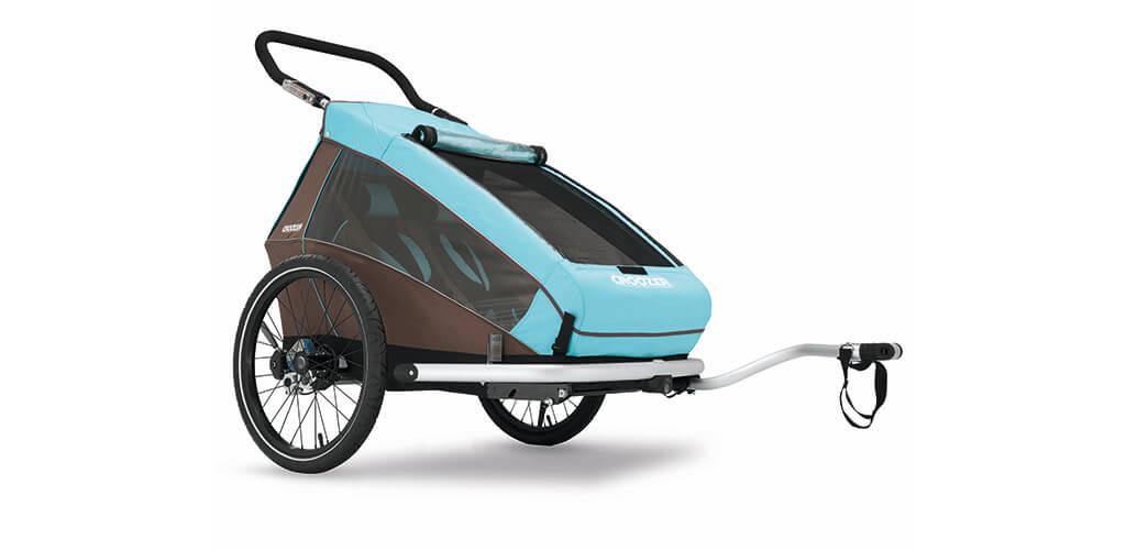 Croozer Kid Plus bicycle trailer