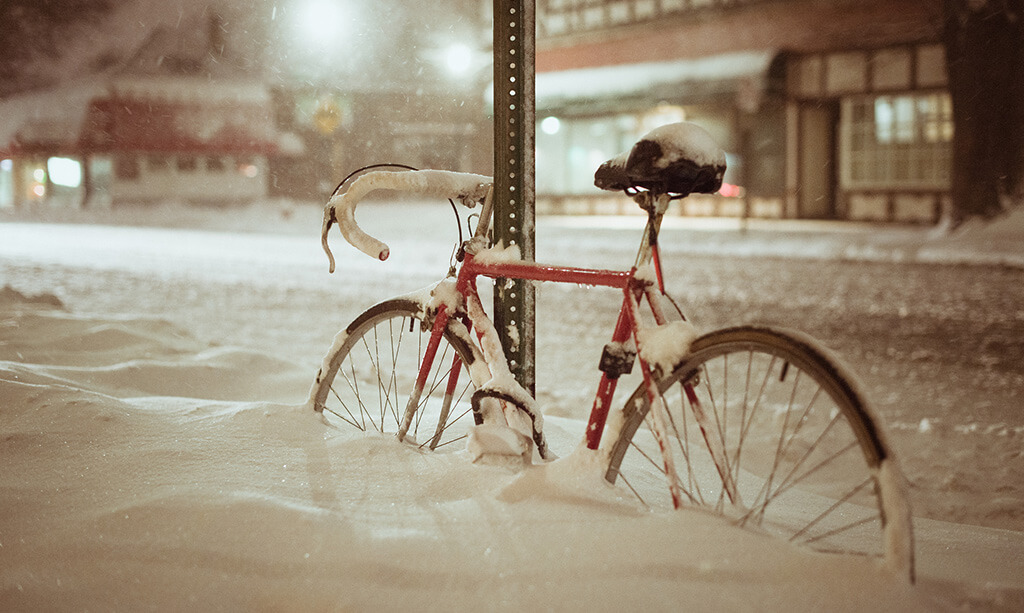 A good reason to invest in a winter bike. Photo by chuddlesworth