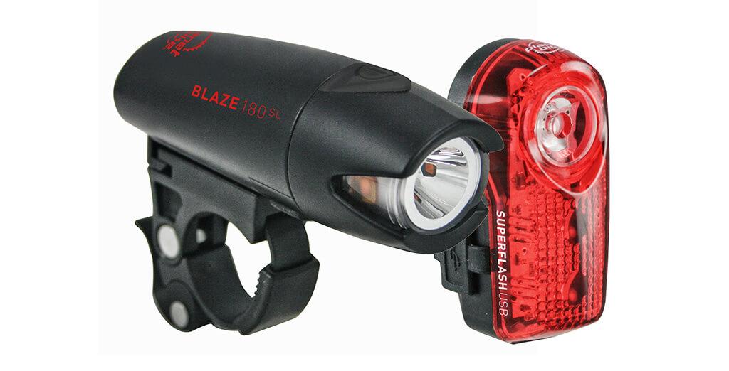Planet Bike Blaze bike light set