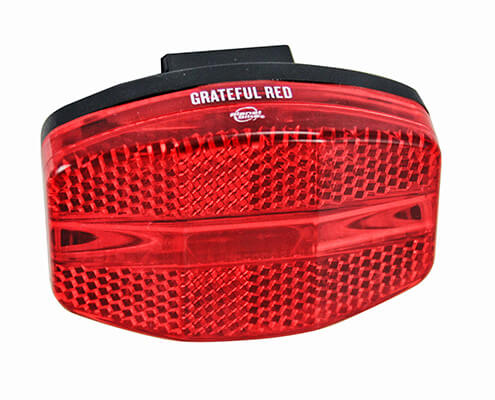 Planet Bike Grateful Red Bicycle rear light