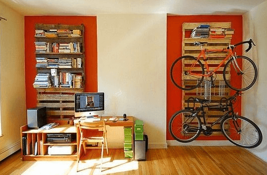 Bicycle storage solutions momentum mag pallet bike rack solutioingenieria Image collections