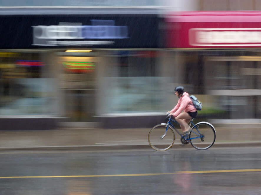 Biking In the Rain: Gear, Tips, and Gentle Encouragement