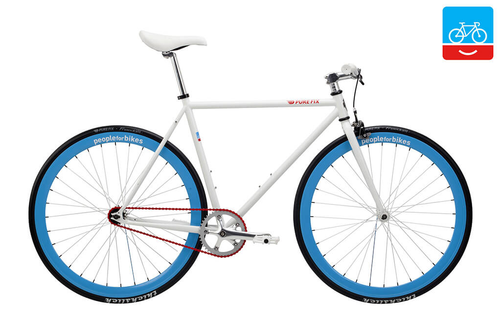 Pure Fix Released a Limited-edition PeopleforBikes Bike