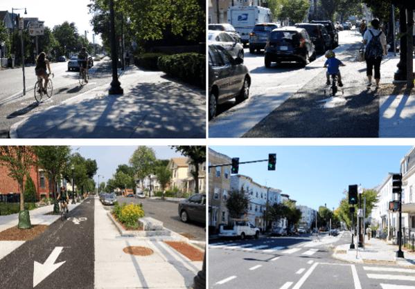 Protected Bike Lanes Cambridge