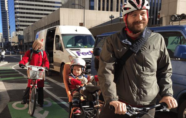 Biking in Denver