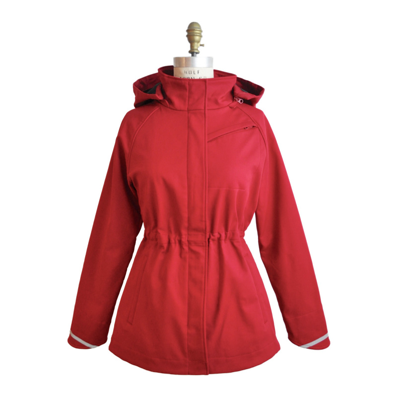 Mia Melon stylish women's rain jacket