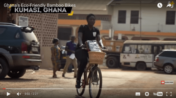 Creating Jobs by Building Bamboo Bicycles in Southern Ghana