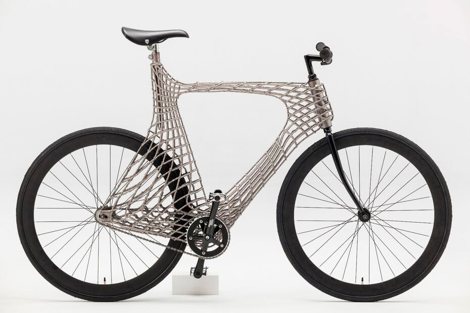 This Bike was 3D Printed by a Robotic Welding Arm