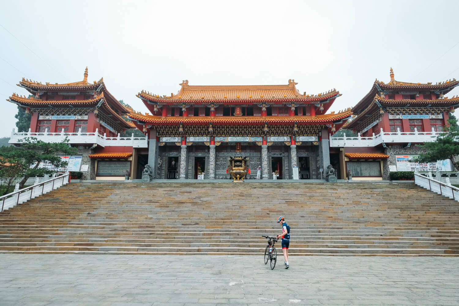 Cycling Around Taiwan's Sun Moon Lake