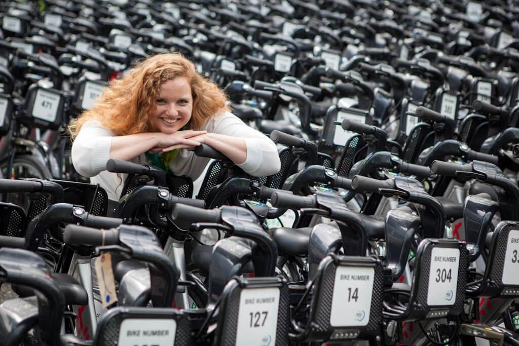 Mia Kohout, Vancouver bike share