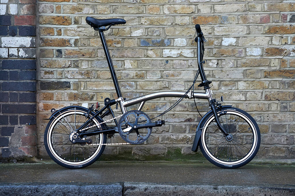 Brompton Ups the Swag Factor with the Limited Release Nickel Edition