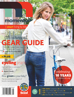 Momentum Mag Smart Living By Bike Issue 71