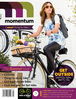 Momentum Mag Smart Living By Bike Issue 72