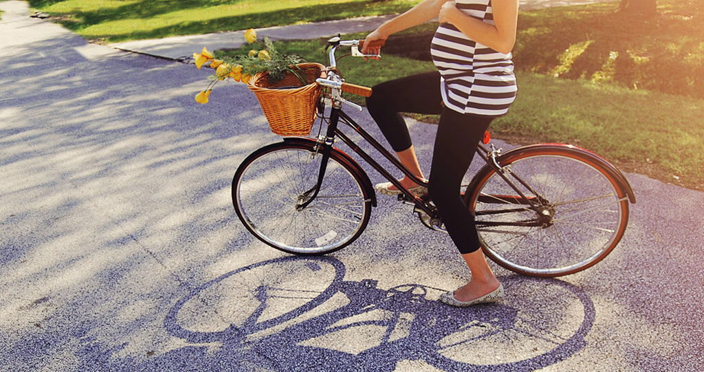 Biking while pregnant