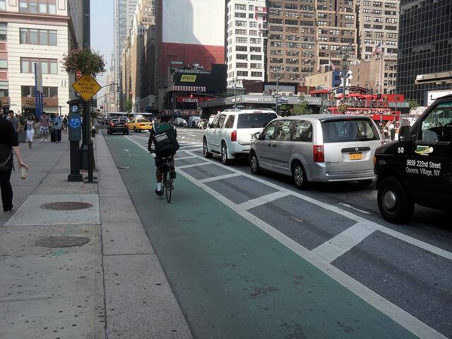 new york bike lane