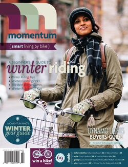 Momentum Mag Winter Issue 69 Smart Living By Bike
