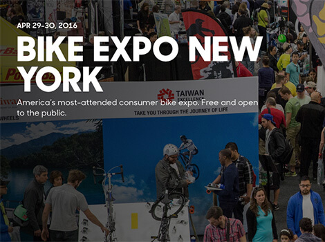Bike Expo New York Rolls into the Big Apple Next Week