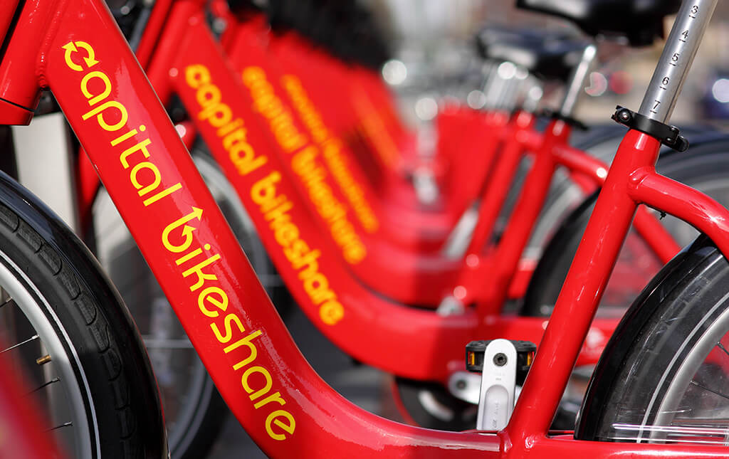 Washington D.C. Offers a $5 Annual Bike Share Membership for Low-Income Residents