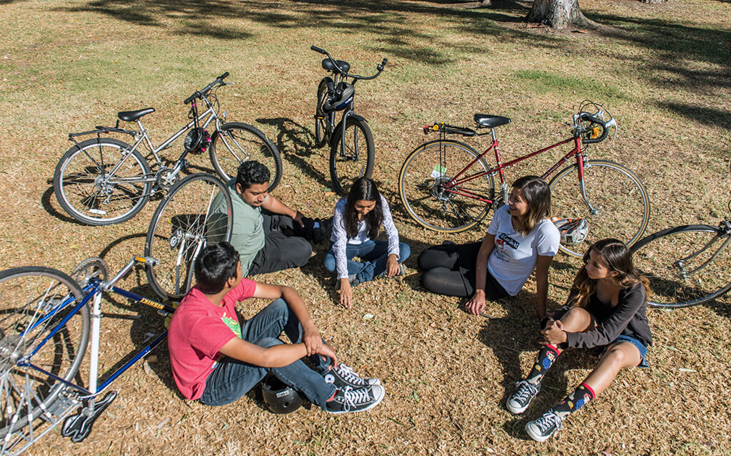 Youth bicycle advocacy