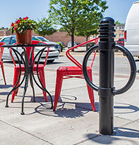 Reliance Foundry bicycle parking