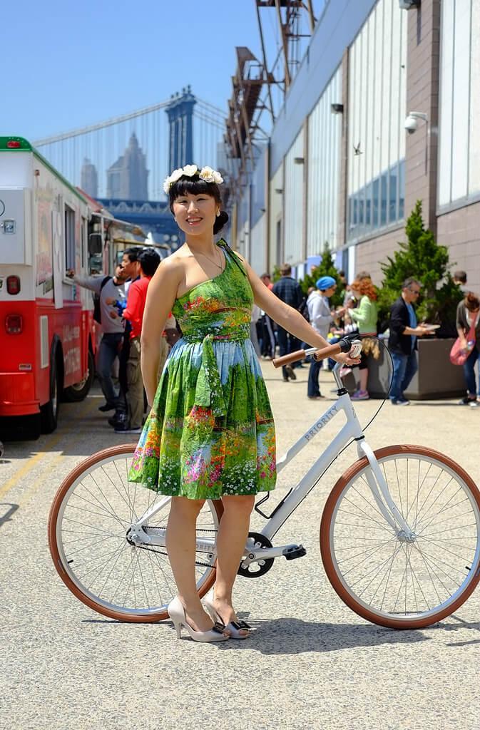hot weather bike style