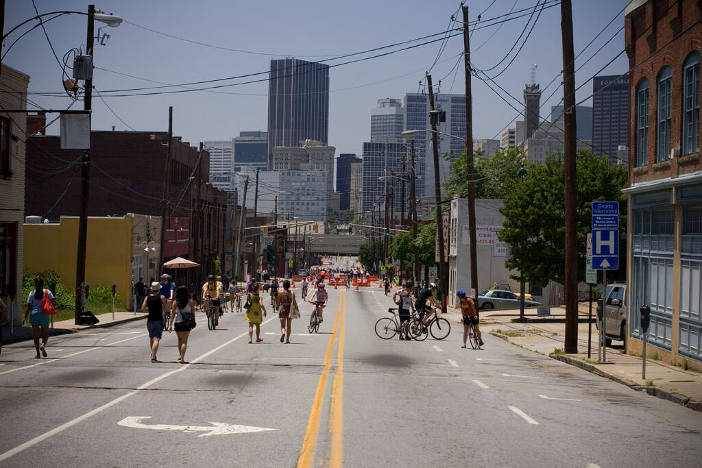 Atlanta Puts $1 Billion Towards Bike and Pedestrian Projects