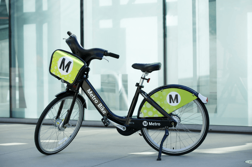 Metro Bike Share Opens in Los Angeles Today