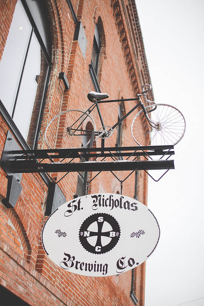 Preserving History Through Bikes and Beer at the St. Nicholas Brewing Co