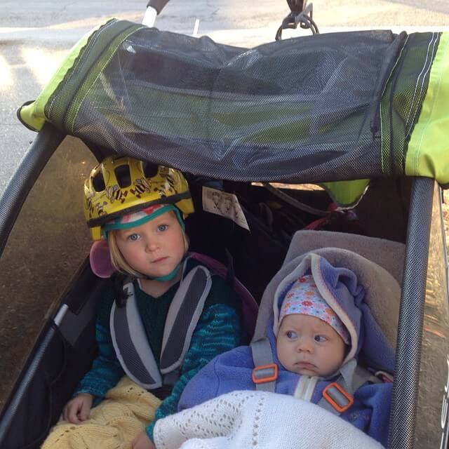 Transporting Kids by Bike: A Journey