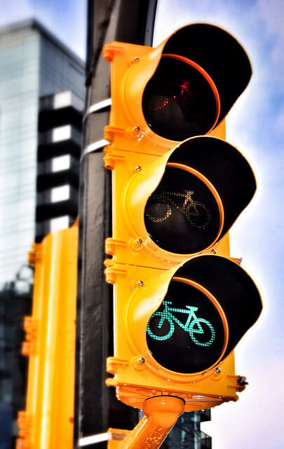 bicycle traffic signal